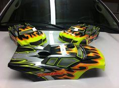 Losi 8ight-T 2.0 custom body paint.