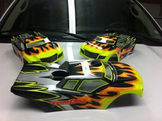 Losi 8ight-T 2.0 custom body paint.