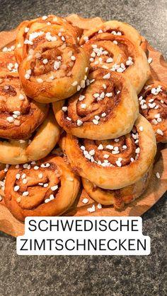 I Love Food, Good Food, Yummy Food, Baking Recipes, Dessert Recipes, Scandinavian Food, Diy Food, Food Videos, Sweet Recipes