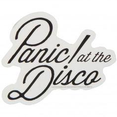 Panic At The Disco Logo Sticker