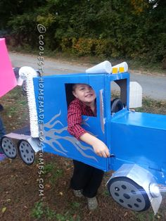 Big Rig Truck Halloween Costume for a Boy... Coolest Homemade Costume Contest
