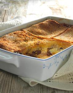 Apple, Rum & Raisin Bread & Butter Pudding