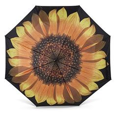 Abbott Collection Sunflower Stick Umbrella