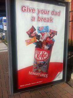 Kit Kat Print Ad (my image)
