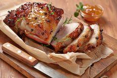 Dinner Recipe: Apricot and Orange Glazed Pork Roast