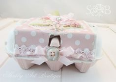 Pink and shabby Easter gift giving - Shabby Art Boutique