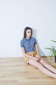 Noctis, Tel Aviv, Simple Lines, Freckles, Editorial Fashion, Magazine, Makeup, Model, Hair