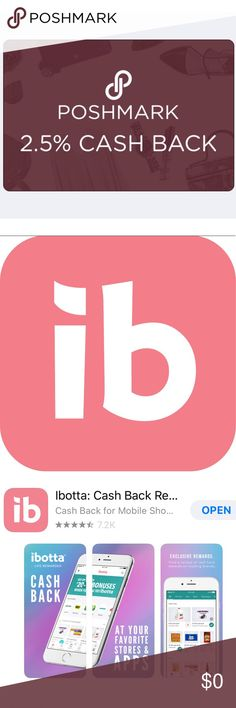 Ibotta Cash Back Rewards App https://ibotta.com/r/wmtsgox Thought you would enjoy Ibotta (if you don't already). It's an easy to use, cash back rewards app.  I use it every time I shop, and thought you would like it too! Use my referral code, wmtsgox, and you can get a $10 welcome bonus. Sign up at https://ibotta.com/r/wmtsgox or your App Store on iOS/ Android Other