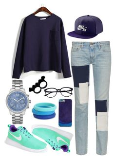 """sporty af"" by audhayfi on Polyvore featuring Simon Miller, NIKE, Chewbeads, GUESS and L'Artisan Créateur"