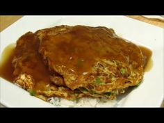 How to make Egg Foo Young – Easy Chinese Recipe FULL RECIPE HERE Brown Gravy Recipe brown gravy recipe brown sauce recipe chinese brown gr. Easy Chinese Recipes, Indian Food Recipes, Asian Recipes, Ethnic Recipes, Asian Foods, Chinese Egg, Chinese Food, Chinese Cabbage, Chinese Meals