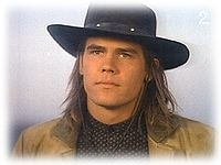 Wild Bill Hickok as portrayed by Josh Brolin on The Young Riders.  A finey playing a historical hottie on a show that was one of the greatest gifts the early 90's bestowed upon us.  Triple whammy.