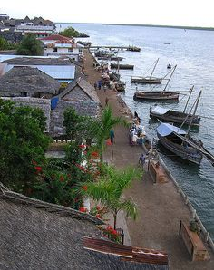 Built in coral stone and mangrove timber, Lamu Old Town is the oldest and best-preserved Swahili settlement in East Africa.  by MysteryBee
