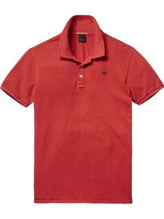 e7b92a31f1d99 Basic Polo Shirt - Scotch Latest Clothes For Men