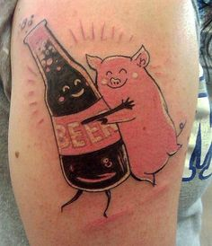 1000 images about beer tattoos on pinterest beer awful tattoos and german beer steins. Black Bedroom Furniture Sets. Home Design Ideas