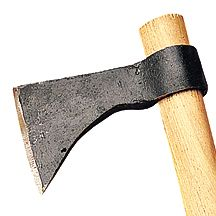 You never know when a tomahawk will come in handy. Great for scouts or any mountain man at heart :)