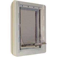 Buy Ideal Pet Products Ruff-Weather Pet Door with Telescoping Frame securely online today at a great price. Ideal Pet Products Ruff-Weather Pet Door with Telescoping Frame avail. Home Depot, Best Dog Door, Dog Door Flaps, Pet Door, Door Wall, Cat Wall, Thing 1, Large Animals, Dog Houses