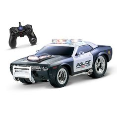KidiRace RC Remote Control Police Car for Kids Rechargeable Durable and Easy to Manufacturer - KidiRace, EAN - Dimensions - x x Package Dimensions - x x Package Weight (lbs) - Category - Cars, Trucks Motorcycles, UPC - 856097005547 Rc Remote, Remote Control Cars, Radio Control, Kids Police Car, Police Cars, Police Truck, Christmas Gifts For Kids, Gifts For Boys, Christmas 2017
