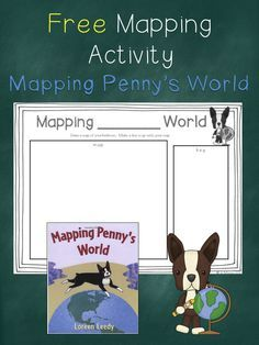FREE Mapping Activity with Mapping Penny's World schoolisahappyplace.blogspot.com