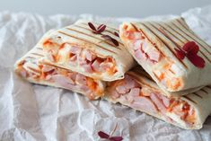 They are just so easy and delicious! Lunch Recipes, Mexican Food Recipes, Italian Recipes, Healthy Recipes, Ethnic Recipes, Ham Pizza, Learn To Cook, Diy Food, I Love Food