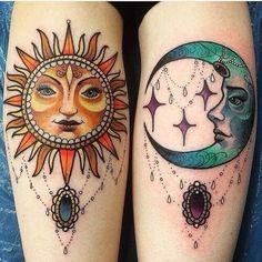 Image result for celestial tattoos