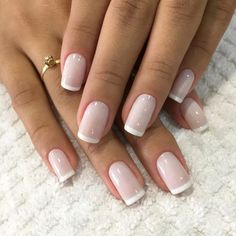 Noel Torphy Runway fashion french Nails, gel Nails, black Nails, ombre Nails, prom Na French Toe Nails, French Manicure Nails, Manicure E Pedicure, Nail French, Ombre French Nails, Short French Nails, Black French Manicure, Stiletto Nails, Bride Nails