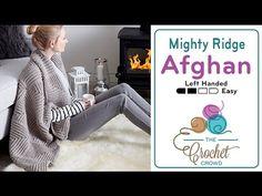Crochet Mighty Ridge Afghan + Tutorial - The Crochet Crowd