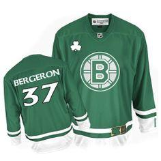 67323e1579b Patrice Bergeron jersey-Buy 100% official Reebok Patrice Bergeron Men s  Premier St Patty s Day Green Jersey NHL Boston Bruins  37 Free Shipping.