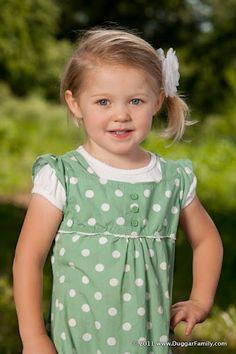 Jordyn-Grace Makiya Duggar 2012  3 years old