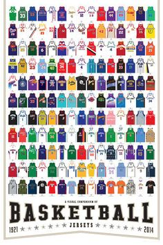 Infographic: 165 Killer Basketball Jerseys | Co.Design | business + design