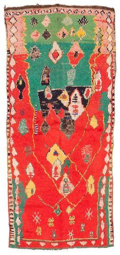 Vintage Berber kleed