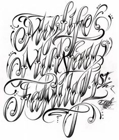 """Existance Tattoo Lettering Fonts Cursive Letters Tattoos Page """"My Life Letters Tattoo, Tattoo Fonts Alphabet, Tattoo Fonts Cursive, Cursive Letters, Tattoo Script, Letter Fonts, Elf Letters, Tattoo Lettering Styles, Chicano Lettering"""