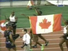 1996 Olympic Gold Medal 4x100 CAN relay - YouTube
