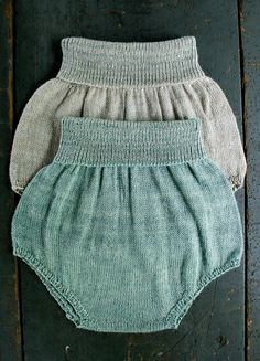 DIY Whit's Knits: Baby Bloomers. via The Purl Bee - Knitting Crochet Sewing Embroidery Crafts Patterns and Ideas!