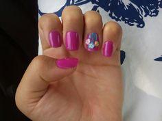 Spring nail art tutorial😍