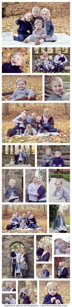 Fall family photo session! jennifromtheblog.com   stephanie glover photography