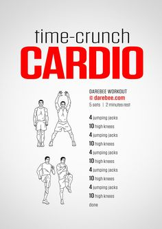 Time Crunch Cardio Workout