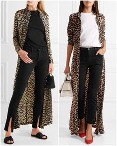 Do you like leopard print? If the answer is even yes or no, I'm sure that you'll like this timeless trend after I show these stylish outfits to you. Leopard Print Outfits, Animal Print Outfits, Animal Print Fashion, Leopard Cardigan Outfit, Fashion Mode, Look Fashion, Fashion News, Fashion Outfits, Womens Fashion