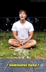 kim jong kook ice bucket challenge