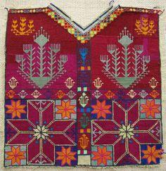 A child's dress front from Gardez, mid century Phulkari Embroidery, Embroidery Art, Cross Stitch Embroidery, Embroidery Patterns, Indian Embroidery, Cross Stitch Cards, Cross Stitching, Cross Stitch Designs, Cross Stitch Patterns