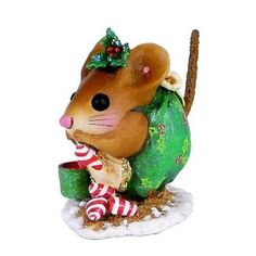 Wee Forest Folk - Christmas Nibble Mouse