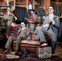 Just Like A Chap by Mr. B. The Gentleman Rhymer