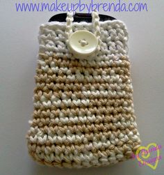 CROCHETED SMARTPHONE / iPOD CASES (Customizable) .. $9.00 USD (free shipping)