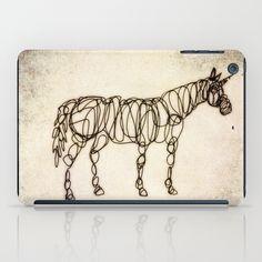 Scribbled Unicorn iPad Case