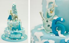 Frozen Cake Pastel Frozen