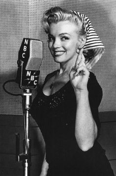 The one and only Miss Monroe.