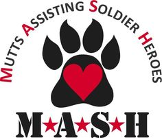 M*A*S*H Mutts Assisting Soldier Heroes We provide Service Dog Public Access training at NO CHARGE to our Veterans, Wounded Warriors and First Responders! Generally, these Service Dogs are chosen from TALENTED Shelter Dogs who have both the attitude and the aptitude to make EXCELLENT PTSD Service Dog...