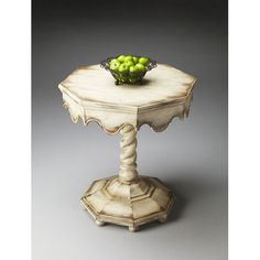 Butler Specialty Company Alabaster Octagonal Accent Table