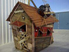Playhouse Custom Pirate Theme. $1,750.00, via Etsy.