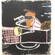 Brilliant Rose Wylie PV at David Zwirner tonight Rose Wylie, Natural Born Killers, Outsider Art, Oil On Canvas, Sculpture, Gallery, Artwork, Image, Instagram