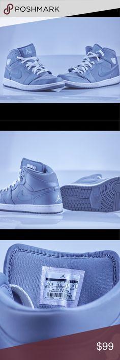 Nike Air Jordan (Size 12.5) Grey / White